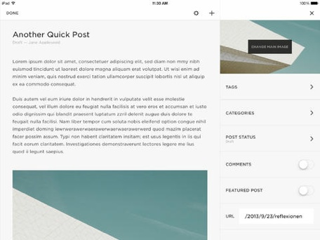 Squarespace improves its website-management tools with two new iOS apps, two updates