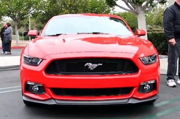 【ビデオ】これが新型フォード「マスタング」のエンジンサウンド!