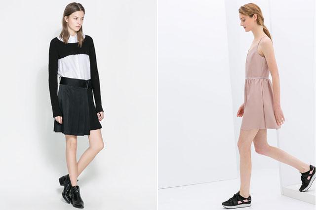 zara spring 2014 dresses collection other dresses dressesss. Black Bedroom Furniture Sets. Home Design Ideas