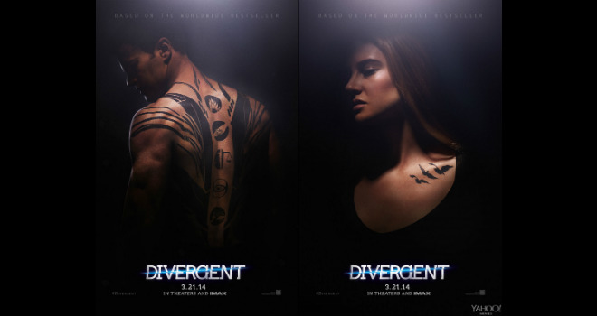 divergent posters tattoos