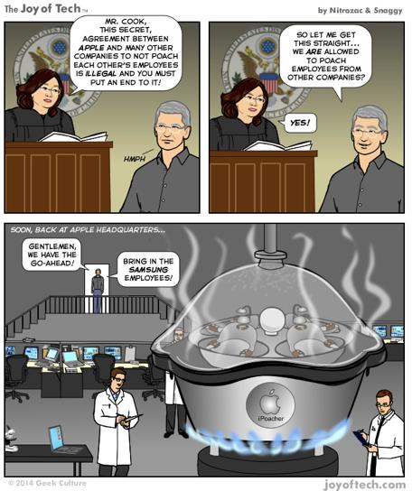 Apple poaches Samsung