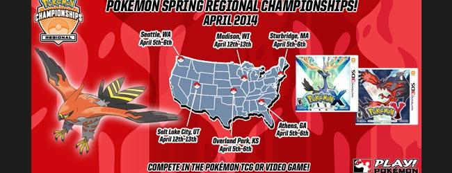 US Pokémon Spring Regional