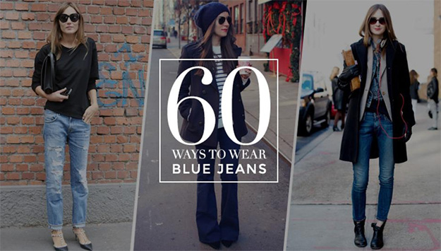 Still on the denim train? Here are 60 ways to wear