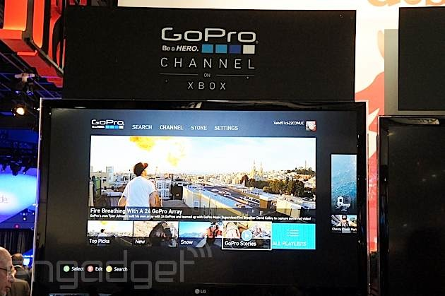 GoPro Channel with exclusive content launches on Xbox 360 tomorrow