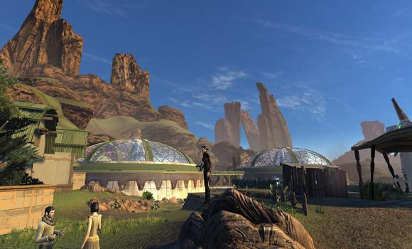 STO Romulan Colony landscape