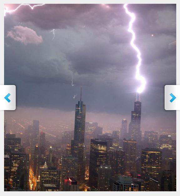 Lightning Wills Tower