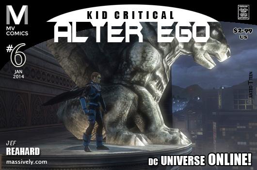 Alter Ego: Issue #5 - Gargoyles' Gaze