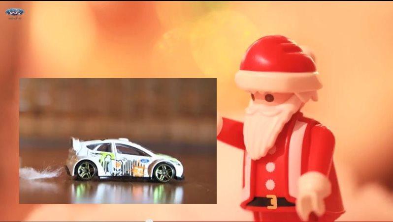 Ken Block, christmas, Gymkhana, Snowkhana, warten aufs Christkind, Ford, Ford Fiesta, video, lustig, witzig, komisch, funny