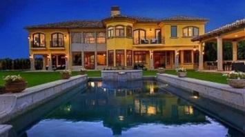 kanye west, kim kardashian house