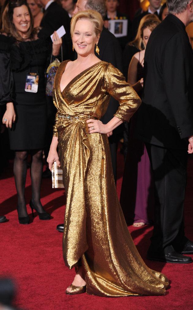 Meryl Streep Oscars 2012