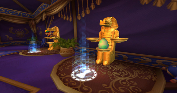 Pirate101 morphing tent