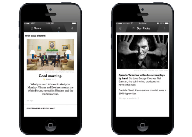 NYT Now curated news app coming to iPhone April 2nd for $8 per month