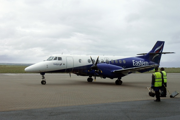 Eastern Airways Saab 2000 Makes Emergency Landing in Norwich