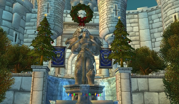 Stormwind decorated