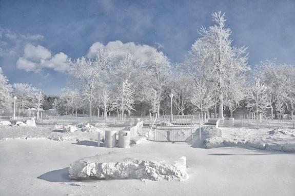 Niagara Falls Freeze