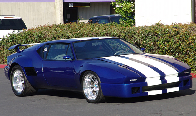 1972 DeTomaso Pantera show car for sale on eBay, front three-quarter ...