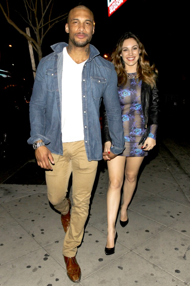 Kelly Brook and David McIntosh Engaged?