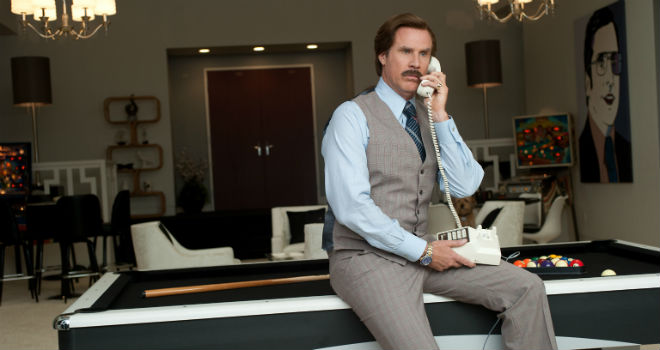 ron burgundy huffington post