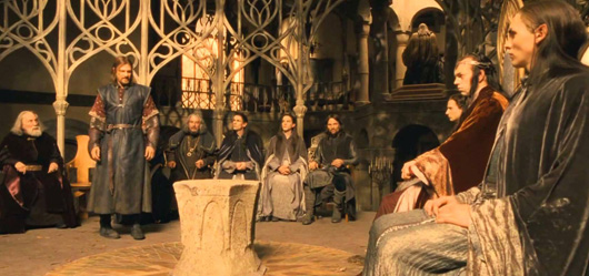 Jackson's Council of Elrond