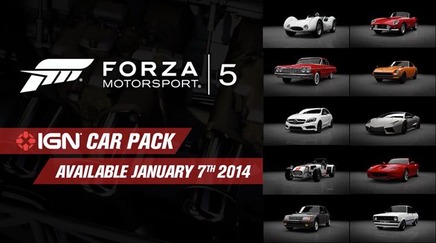 Forza 5 IGN Car pack