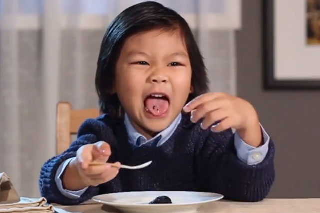 Watch kids taste test gourmet foods