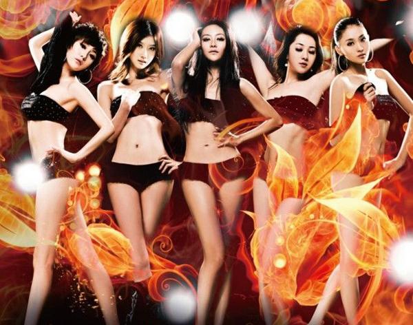 美少女-初めての脱粪_れる5人组女子グループ「青春美少女」が,现在のメンバー5人から来年