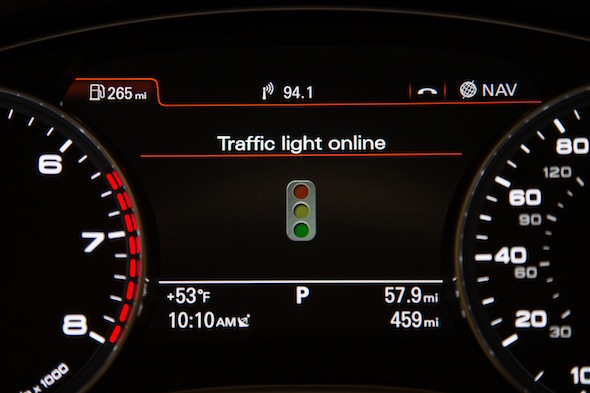 Audi traffic light system