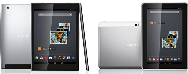 gigaset gets into android tablets with two models including a tegra 4 flagship. Black Bedroom Furniture Sets. Home Design Ideas