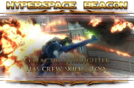 SWTOR Galactic Starfighter has crew skills, too