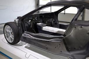 2014 BMW i8 Prototype chassis