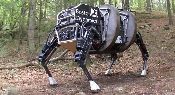 Google compra el fabricante de robots Boston Dynamics