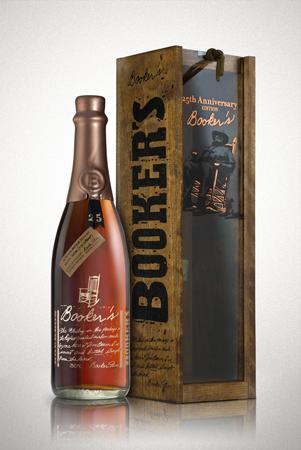 bookers bourbon 25th anniversary