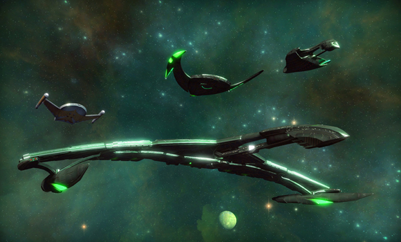 STO Romulan Ships