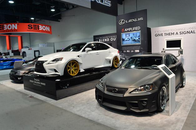 Lexus IS customs