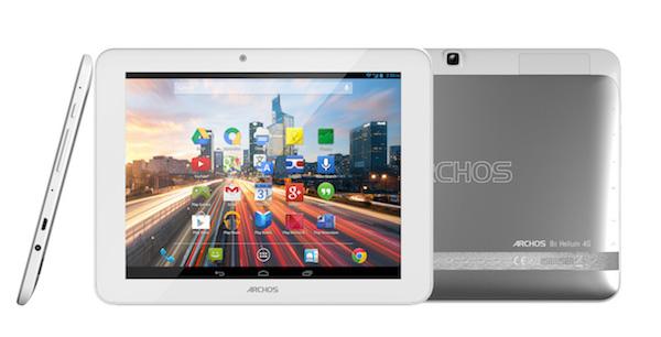 Archos anuncia el tablet 80 Helium 4G de 8 pulgadas y el móvil octa-core 50c Oxygen