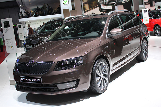 Skoda Octavia Combi Lauren And Klement Edition Green