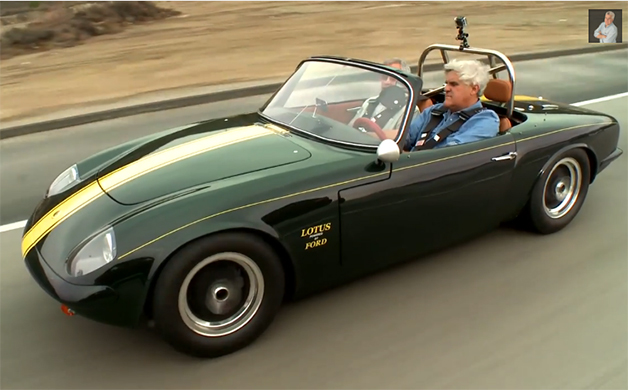 Jay Leno Goes Old School With 1966 Lotus Elan 26r