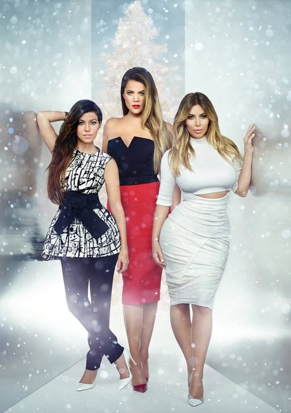 christmas, keeping up with the kardashians
