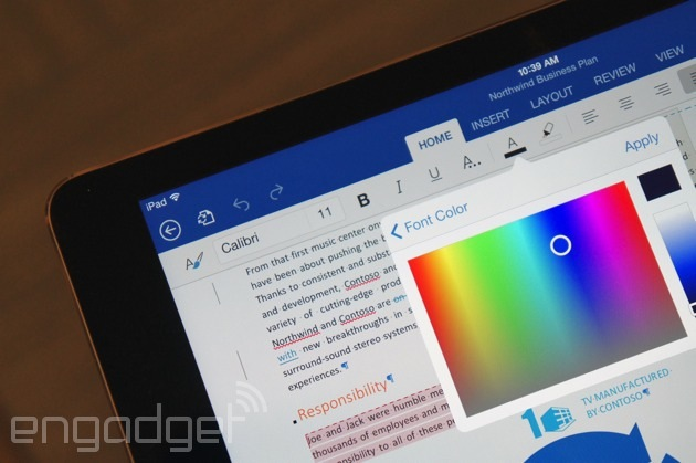 Touch-enabled Office apps could be headed to Android ahead of Windows