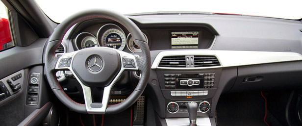 2013 Mercedes-Benz C250 Sport interior