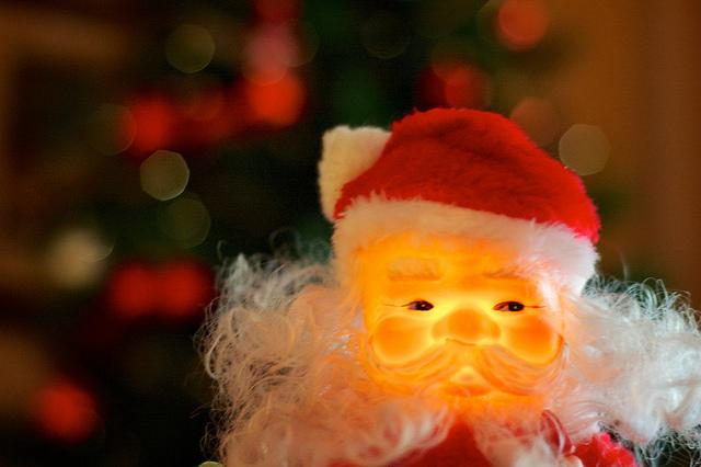 Flickr Papa Noel