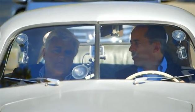 【ビデオ】クルマ大好き司会者、レノとサインフェルドがポルシェ「356/2」に乗る