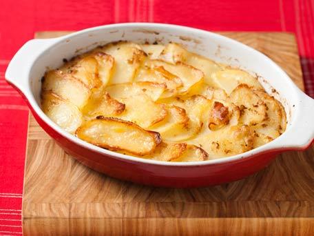 Pure and Simple Potato Gratin