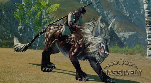 ArcheAge cat mount
