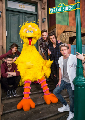 One Direction on Sesame Street What Makes U Useful
