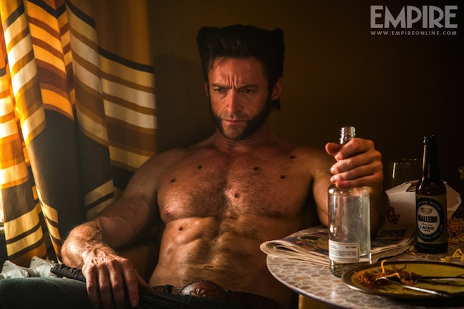 'x-men days of future past' new photos Hugh Jackman