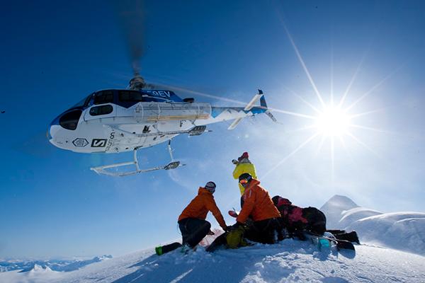 Heliskiing Alaska Chucagh Powder Guides