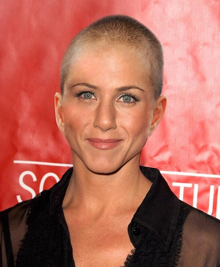 Jennifer Aniston Did Not Shave Her Head | Cambio