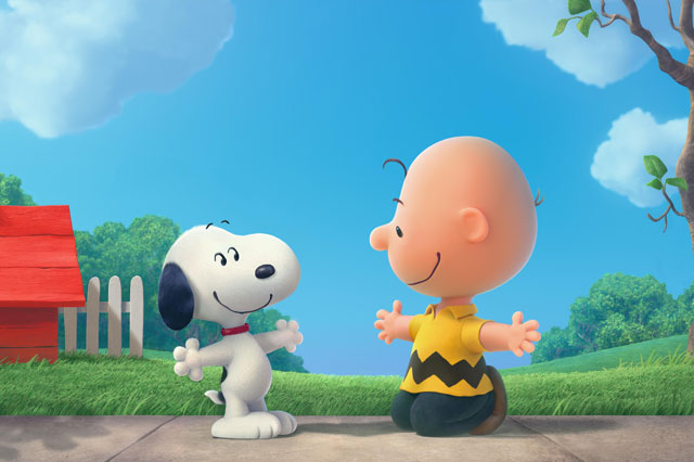 See the trailer for the new Snoopy and Charlie Brown A Peanuts movie