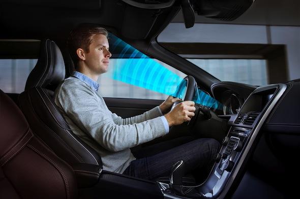 Volvo driver sensing technology
